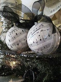 Music sheet Ornaments; doesn't show how but could figure it out