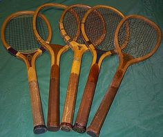 : Vintage Sports Decor, Vintage Tennis, Tennis Racket, Old School, Repurposed, Ideas, Tennis, Vintage Sneakers, Thoughts