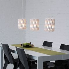 Pilke pendant lamps by Showroom Finland.