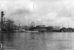 A view of Electric park on the east side of the Belle Isle bridge. As seen from the now defunct Belle Isle marina near the foot of the bridge. (The Detroit News)
