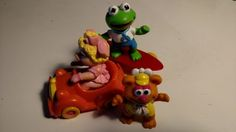 Disney Happy Meal Toy - Muppet Babies - wdwradio.com