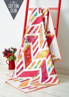 Summer Berry quilt by Laura Pritchard for Love Patchwork & Quilting issue 24