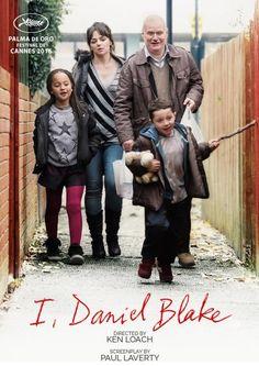 I, DANIEL BLAKE (GB 2016) von Ken Loach, der seiner Linie treu bleibt. Starkes Sozial-Kino, das aufklärt und erschreckt ob seiner Darstellung der britischen (europäischen) Realität.