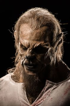 Face Off – Season Episode 14 – Cry Wolf - Create a werewolf character to complement the vampires from the last challenge. Horror Makeup, Scary Makeup, Sfx Makeup, Arte Horror, Horror Art, Vampires, Face Off Makeup, Face Off Syfy, Apocalypse