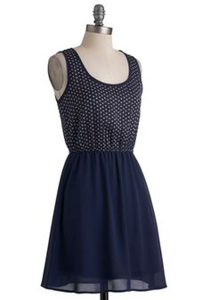 Wish Upon Avon Dress, #ModCloth cute lattice detail on back