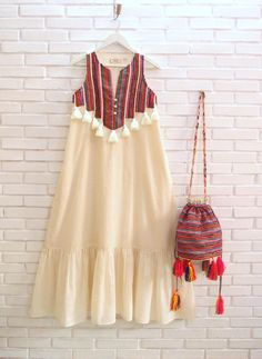 Stylish Dresses For Girls, Boho Summer Dresses, Stylish Dress Designs, Designs For Dresses, Gypsy Dresses, Boho Dress, Cotton Summer Dresses, Chic Dress, Maxi Dresses