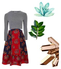 🐘🍊 by celeste-05 on Polyvore featuring polyvore, fashion, style, Glamorous, Ulla Johnson and clothing