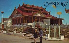 The Pavilion of Burma - Expo Expo 67 Montreal, Expo 2015, Quebec City, World's Fair, Osaka, Architecture, Pavilion, Street View, Canada