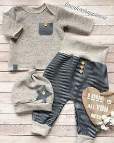 Baby clothes should be selected according to what? How to wash baby clothes? What should be considered when choosing baby clothes in shopping? Baby clothes should be selected according to … Baby Boy Fashion, Kids Fashion, Fashion Ideas, Fashion Outfits, Baby Jeans, Baby Set, Baby Sewing, Baby Boy Outfits, Newborn Outfits