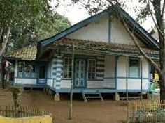 520 Gambar Rumah Adat Sunda Hitam Putih HD Terbaik