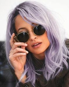 Lilac hair - Salon Geek