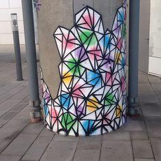 U2 Messe Graffiti, Curtains, Shower, Prints, Rain Shower Heads, Blinds, Showers, Draping, Graffiti Artwork