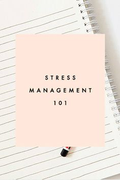 Stress Management - http://blogs.psychcentral.com/stress-better/2014/11/the-1-thing-kids-want-when-theyre-stressed-out-infographic/