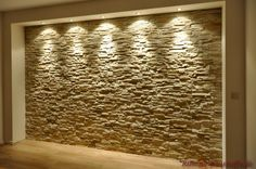 Hier sieht man das #Riemchen Cäsar - Marie Optik Ocre Fence Wall Design, Wall Clock Design, House Front Design, Living Room Partition Design, Living Room Tv Unit Designs, Creative Wall Decor, Tv Wall Decor, Tv Wanddekor, Exterior Wall Tiles