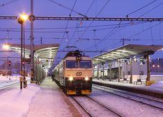 Bonde, Snowy Day, Locomotive, Transportation, Electric, Fancy, World, Vehicles, Trains