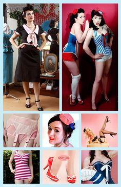Pin-up girl costume