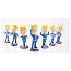 $9.40 (Buy here: http://appdeal.ru/82q9 ) Gaming Heads Fallout 4 Vault Boy TOY Bobbleheads Series 1 PVC Action Figure For Kid DOLL for just $9.40