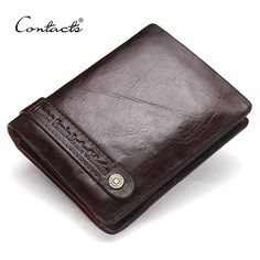CONTACT'S Leather Men Wallet