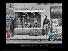 Highway 51 (Silver Series) Prints by Chris Consani at AllPosters.com