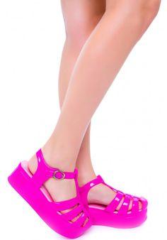 CHOOSE Barbie Doll Shoes Fashionista Fashion Fever Wedge Platform Slide Sandal