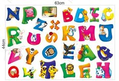 Wall Stickers for Kids Stick Wall Decals Wall Decals Decoration Wall Sticker Decal - Letters by bigbvg, http://www.amazon.com/dp/B0088O3BAG/ref=cm_sw_r_pi_dp_Xhg0pb0YP7NAD