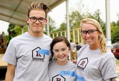 As part of freshman orientation, Virginia's Roanoke College includes building a brand new home alongside a family. Lan House, Roanoke College, Freshman Orientation, Habitat For Humanity, Habitats, Virginia, Youth, Brand New, Couple Photos