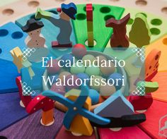 calendario waldorfssori Waldorf Education, Homemade Toys, Toddler Learning, School Life, Wood Toys, Diy For Kids, Kids Toys, Activities For Kids, Parenting