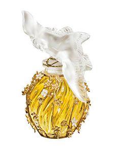 *Nina Ricci ~ L 'Air du Temps,bottle by Lalique Lalique Perfume Bottle, Perfume Atomizer, Antique Perfume Bottles, Perfumes Vintage, Beautiful Perfume, Solid Perfume, Smell Good, Foundation, Images