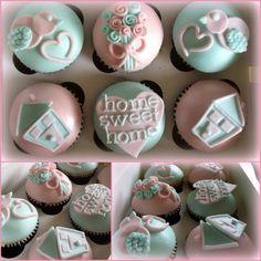 new home cupcake