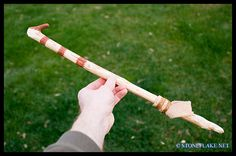atlatl | simple, branch Atlatl can be made relatively quickly. Here I will ...