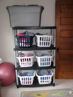 the Whitney Kiddos: Our (Current) Laundry Solution