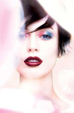 Shimmering, Festive Makeup