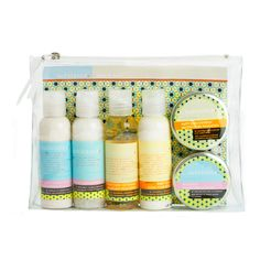 Mom and Baby Travel Pack (Substance)    All your favourite body-pampering items from Substance. A perfect solution for your on-the-go lifestyle or to give as a gift.     Mom Leg  Back Crème2 oz / 62.5 ml  Mom Mineral Bath Soak 2 oz / 62.5 ml  Mom Belly Jelly1 oz / 31.25 ml  Baby Crème2 oz / 62.5 ml  Baby Body Foam 2 oz / 62.5 ml   Nappy Rash Ointment1 oz / 31.25 ml