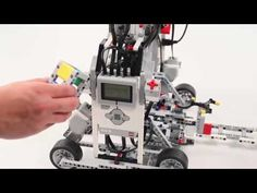 Automatic Exit-Door with WeDo Lego Education Project Lego Mindstorms, Lego Robot, Handmade Art, Legos, Spinning Top, Education, Classroom Ideas, Club, Youtube