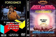DVD - LIVE ROCK AM RING GERMANY 26.05. 1985 PRO SHOT TV - 25 MINUTES - INCLUDING MENUE