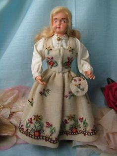 Norwegian Doll; mine has a different bunad!
