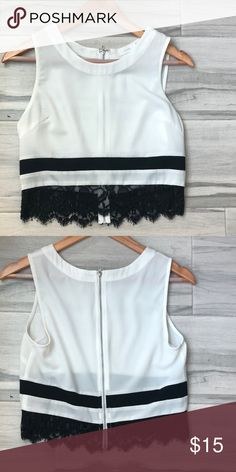 WHBM off shoulder top stripe blouse top Love this top for summer ... 994778be2