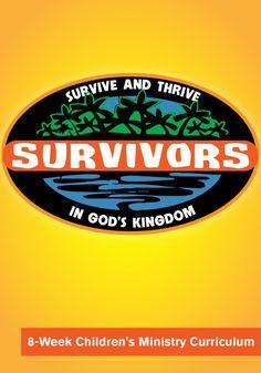 Survivors 8-Week Children's Ministry Curriculum – Children's Ministry Deals