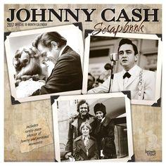 Johnny Cash 2017 Calendar (Paperback)