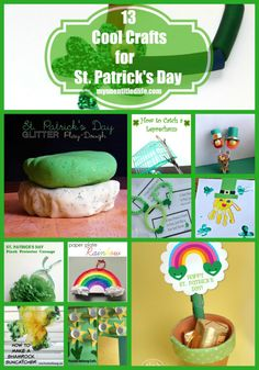 13 Cool Crafts For St.Patrick's Day your kids will love!