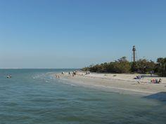 Sanibel Island, Florida.  We were here during winter of 2010, picking seashells on the seashore.