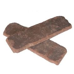 Old Mill Brick Boston Mill Colonial Collection Thin Brick Flats, Red