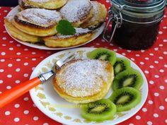 jabłka w cieście Banana, Pancakes, Cooking Recipes, Breakfast, Sweet, Pierogi, Food, Chef Recipes, Cooking