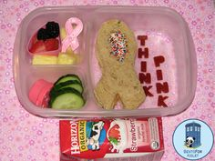 Think Pink Breast Cancer Awareness Bento