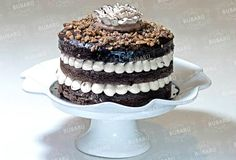 English Nut, pastel de chocolate con nuez. Cubierto de ganache y toffee. Delicioso!