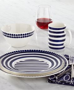 Kate Spade Charlotte Street North Collection - Dinnerware - Dining & Entertaining - Macy's