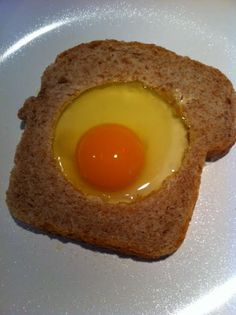 One Eyed Mummy Goes Camping! Need a fun meal idea when you are camping or even at home? Cracked Egg, Whole Grain Bread, Go Camping, Great Recipes, Good Food, Healthy Eating, Nutrition, Meals, Breakfast