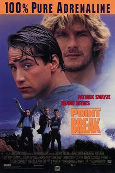 is a 1991 American action film directed by Kathryn Bigelow and starring Patrick Swayze, Keanu Reeves, Lori Petty and Gary Busey. The title refers to the surfing term point break, where a wave breaks as it hits a point of land jutting out from the coastline