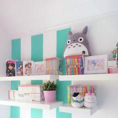 And she decorated further.  i have fun    I love my cats couple  so kawaii  .  .  Partnerseiten: @irinayuki @miumaus14 .  .  .  #manga #mangashelf #mangas #anime #otaku #totoro #hiyokoi #neko #nekocouple #ikea #pastel #deco #decoration #decor #decorate #deko #kawaii #myroom #instapicture #instagramer #influencer #girlroom #girlythings