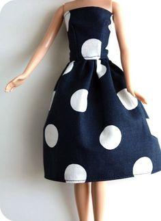 Barbie® dress tutorial (can add sleeves)